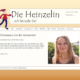 Screenshot Website Willkommen / Home - DieHeinzelin