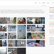 Screenshot Website Praxis - usterMedhno