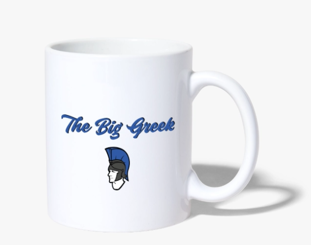 Screenshot The Big Greek Shop - Tasse mit Logo