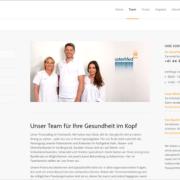 Screenshot Website unser Team - usterMedhno