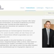 Screenshot Website über uns - basisinvest