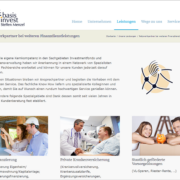 Screenshot Website Netzwerkpartner - basisinvest