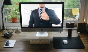 silbertinte unterstützt Sie bei online-Meetings und -Bwerbungsgesprächen